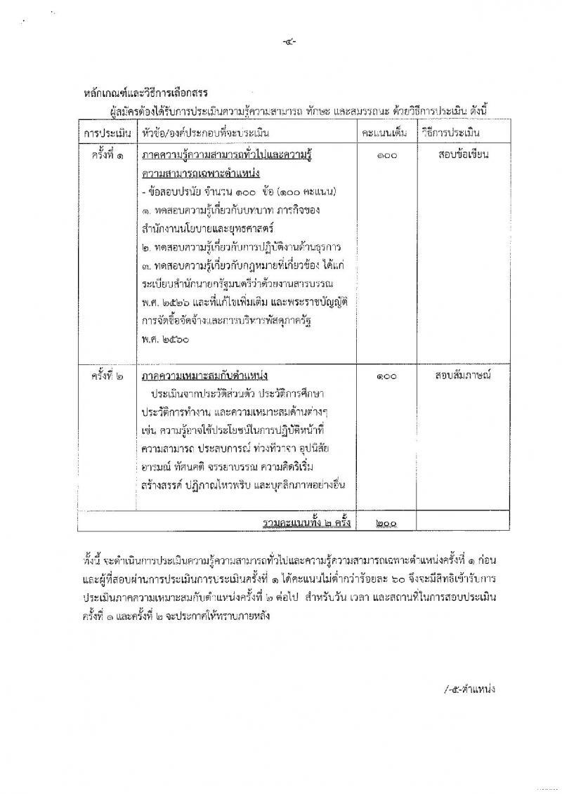 สำนักงานนโยบายและยุทธศาสตร์การค้า ประกาศรับสมัครบุคคลเพื่อเลือกสรรเป็นพนักงานราชการทั่วไป จำนวน 3 กลุ่มงาน 9 อัตรา (วุฒิ ปวส. ป.ตรี) รับสมัครสอบตั้งแต่วันที่ 2-6 ต.ค. 2560