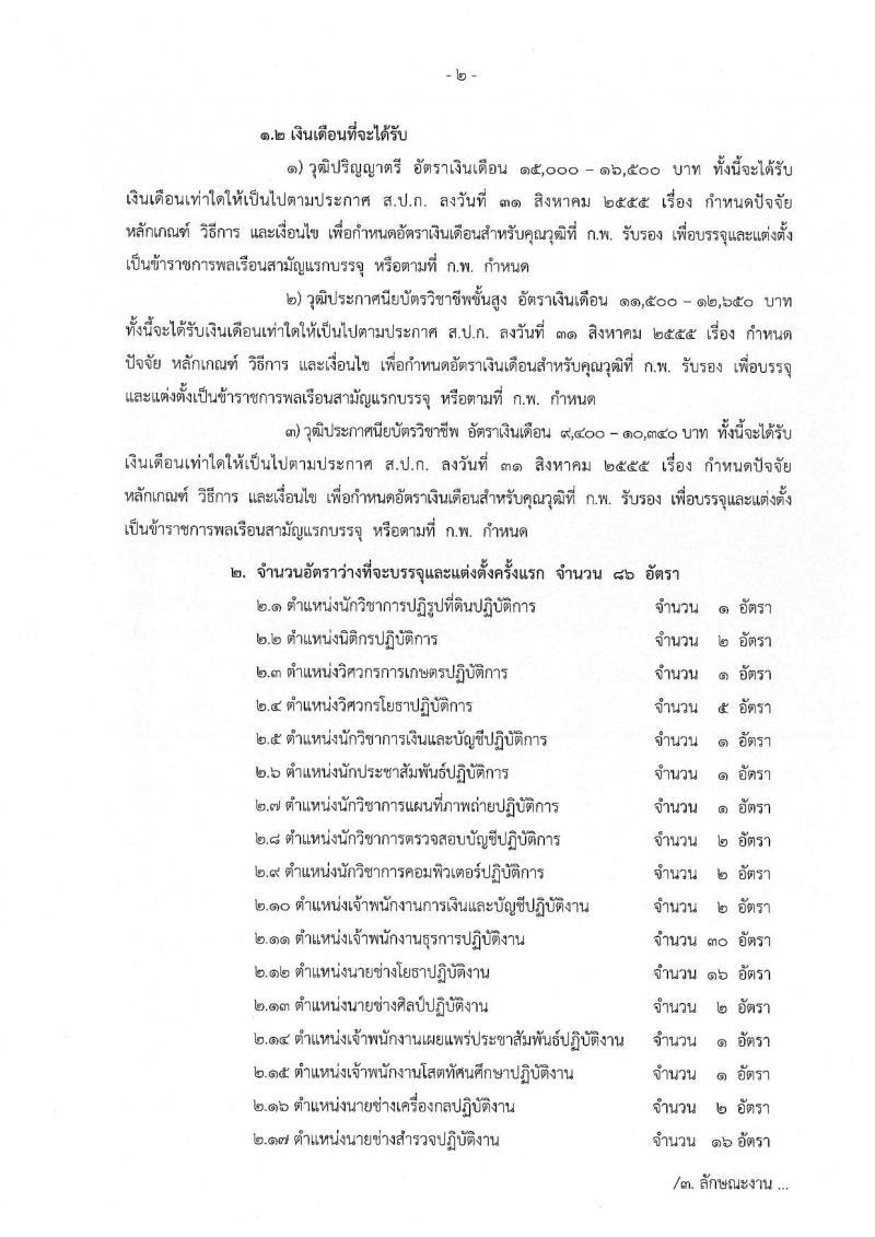สำนักงานการปฏิรูปที่ดินเพื่อเกษตรกรรม ประกาศรับสมัครสอบแข่งขันเพื่อบรรจุและแต่งตั้งบุคคลเข้ารับราชการ จำนวน 17 ตำแหน่ง 86 อัตรา (วุฒิ ปวช. ปวส. ป.ตรี) รับสมัครสอบทางอินเทอร์เน็ต ตั้งแต่วันที่ 21 มิ.ย. – 16 ก.ค. 2561