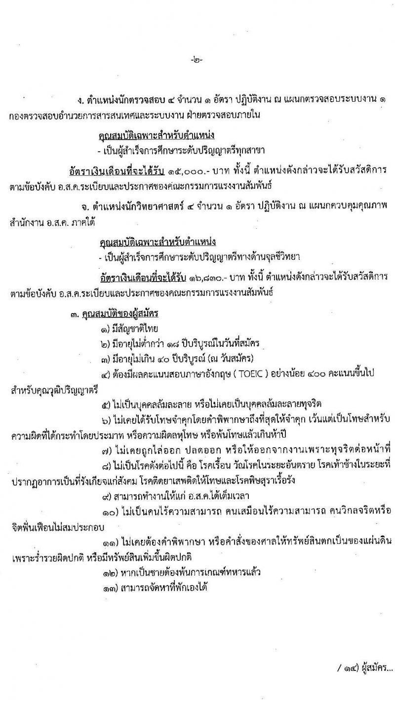 องค์การส่งเสริมกิจการโคนมแห่งประเทศไทย รับสมัครสอบคัดเลือกบุคคลทั่วไปเพื่อบรรจุและแต่งตั้งเป็นพนักงาน จำนวน 7 อัตรา (วุฒิ ป.ตรี) รับสมัครสอบทางอินเทอร์เน็ต ตั้งแต่วันที่ 8-30 ส.ค. 2563